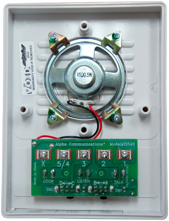 Dorani Intercom Wiring Diagram