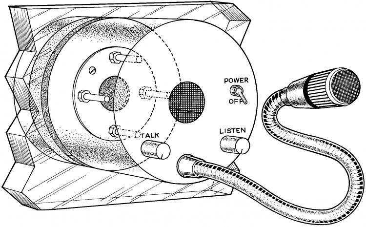 Alpha Communications™ TTU-1AB Bullet-Resistant Talk-Thru