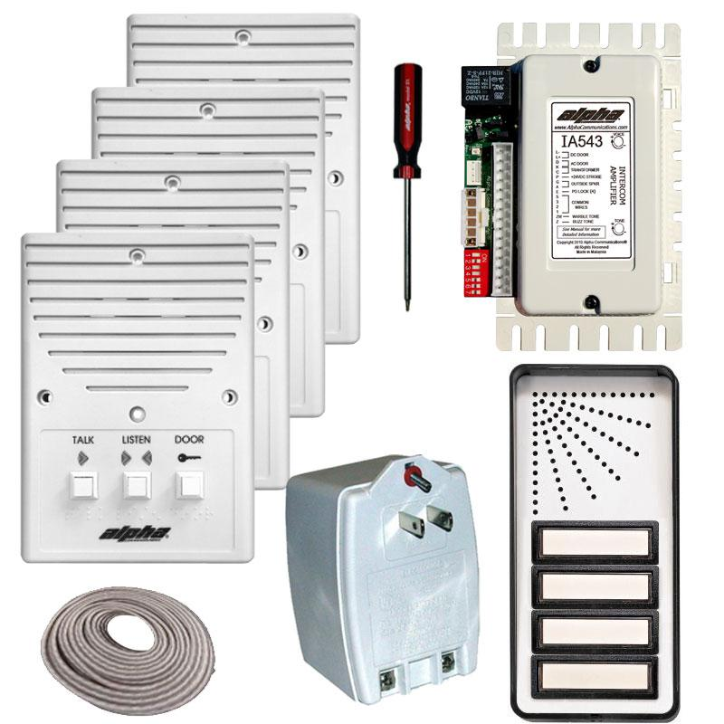 bell 901 door entry system wiring diagram 1998 ford expedition fuse panel alpha communications our systems apartment intercom kits choose from 8 low cost models