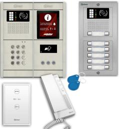 gb2 2 wire audio intercom system [ 1000 x 1000 Pixel ]