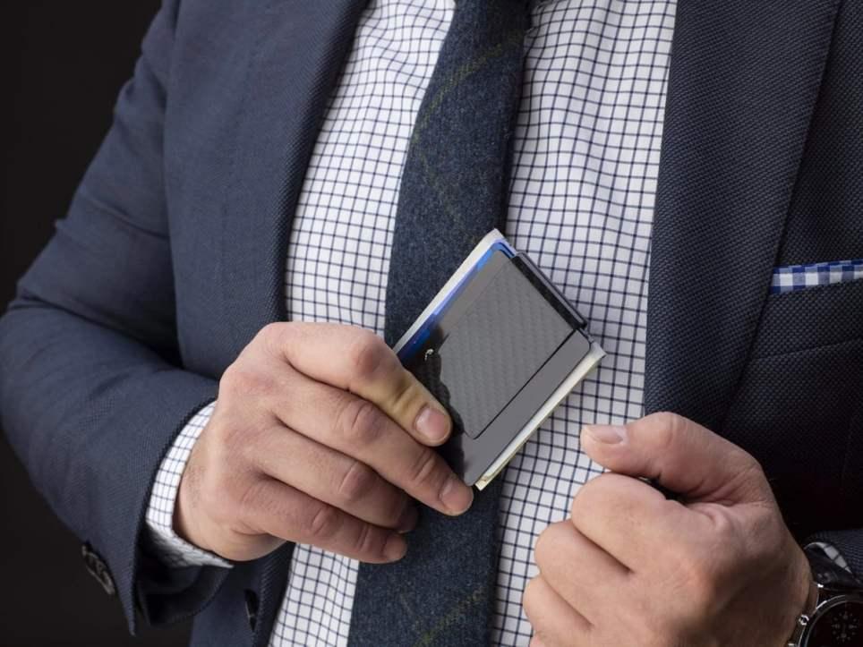 Serman Brands Carbon Fiber Money Clip