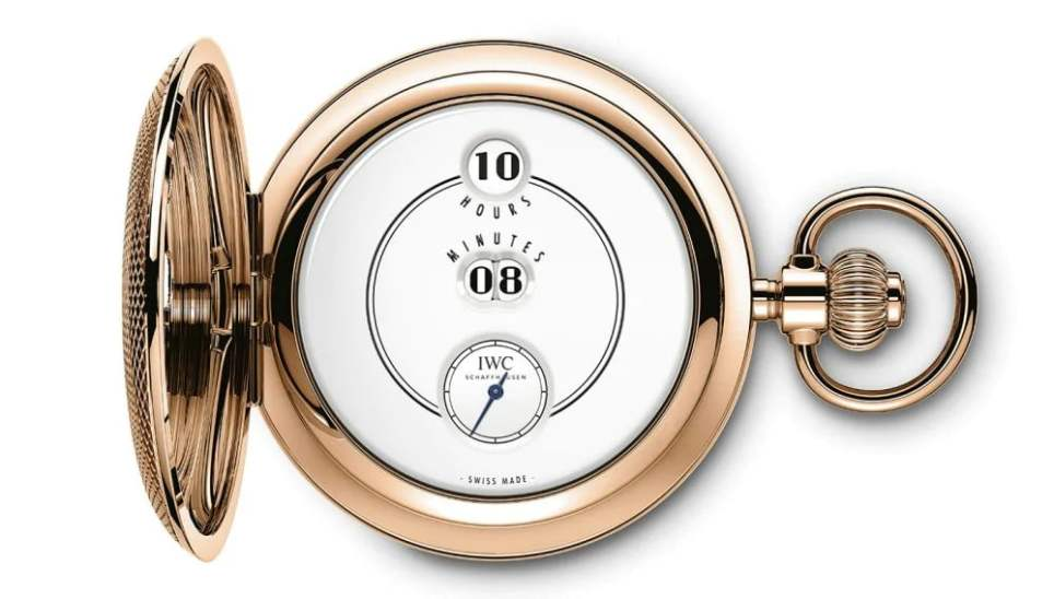 IWC Tribute to Pallweber Edition Pocket Watch