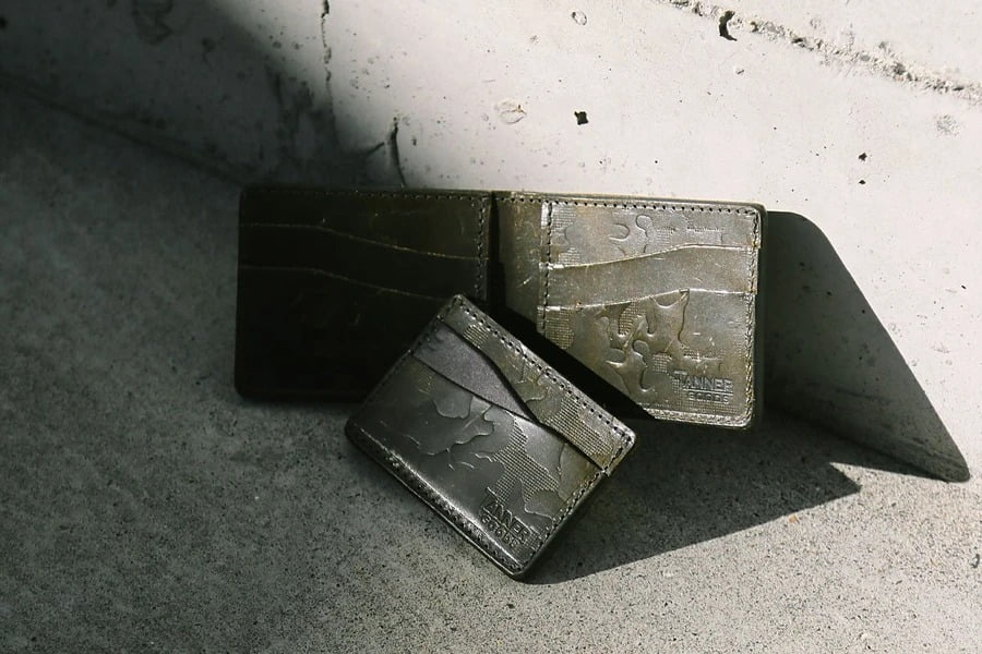 Tanner Goods Journeyman Minimalist Wallet