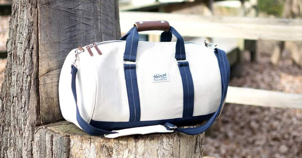 Hudson Gym Bag for Guys
