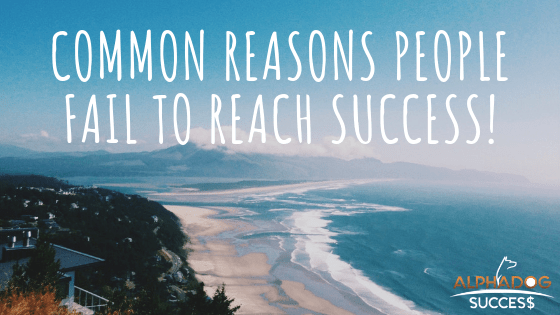 Common Reasons People Fail to Reach Success