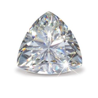 Man-made diamond_Trillion cut22