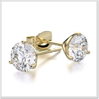 Simulated diamonds_roundH&A-stud-earrings-in-18k-yellow-g2a