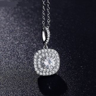 Simulated_diamond_Latest-Style-Pendant-Necklace-Plt-Round-Shape-Micro-Inlay-7674r