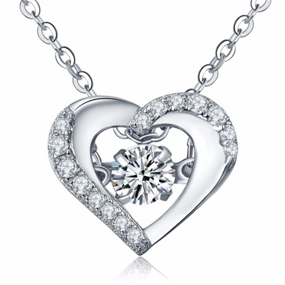 Simulated_diamond_925-sterling-silver-women-love-heart-shape-silver-necklace-7732A