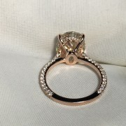 ESQUEL-R1812D-Simulated-diamond-925-Sterling-Silver-Ring-Rose-Gold-5-Carat-Big-Oval-Cut-Ring