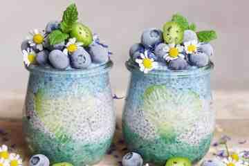 Oceanic Chia Recipe in jars
