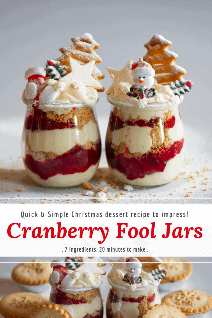 Cranberry Fool jar recipeTesco