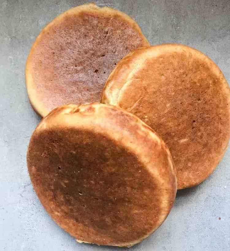 winter wonderland christmas fluffy pancakes recipe ingredients