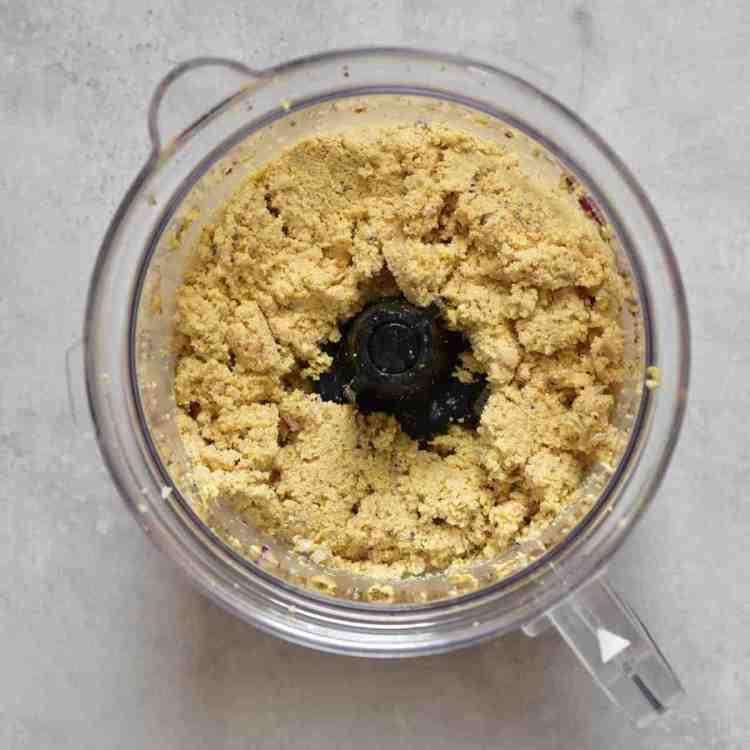 Basic falafel paste