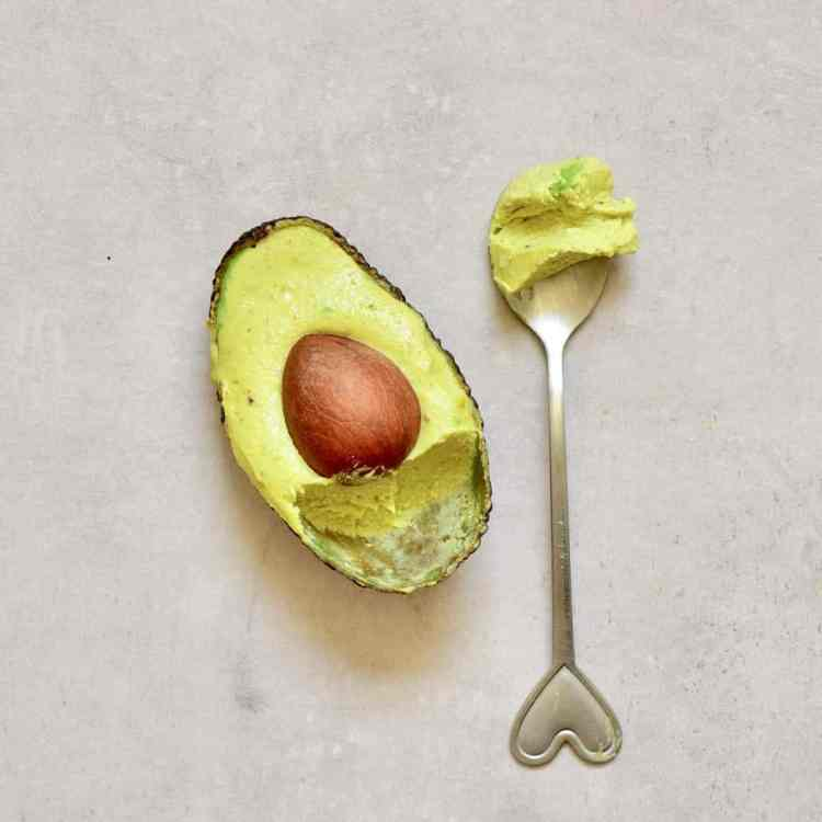 Simple, healthy no churn 4-ingredient dairy-free avocado ice cream