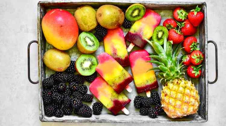 A healthy summer treat