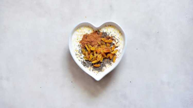 healthy dessert inspired carrot cake oats ingredients