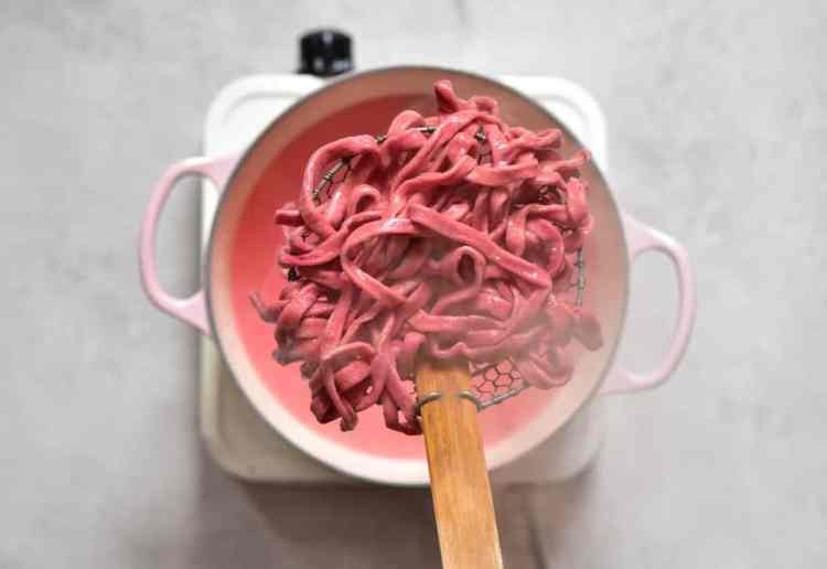 All-Natural Homemade red Pasta