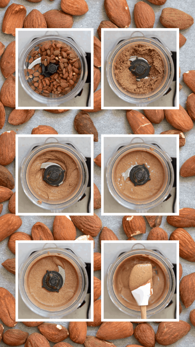 Simple Two-Ingredient Homemade Almond Butter