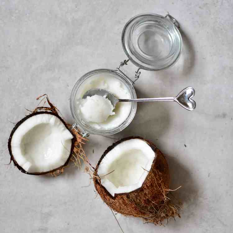 how to make virgin coconut oil at home. Homemade coconut oil from scratch.