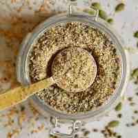 DIY 5-Seed Vegan Protein Powder / Blend