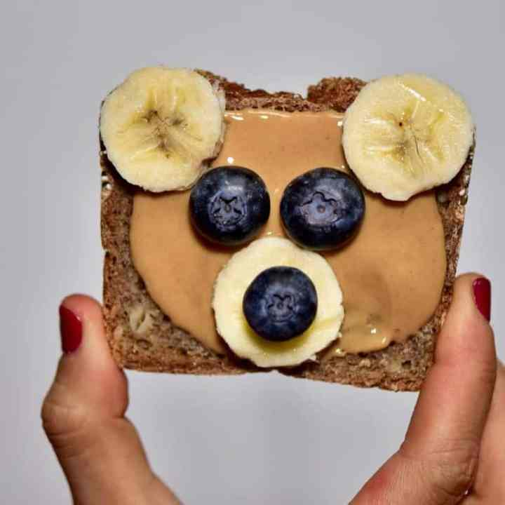 Christmas breakfast ideas perfect for christmas day breakfast - 9 healthy Christmas toast recipes including homemade nut butters, coconut yogurt and fruits. Plus these are easy Christmas recipes for Children - healthy toast with homemade vegan coconut yogurt, cherries and desiccated coconut