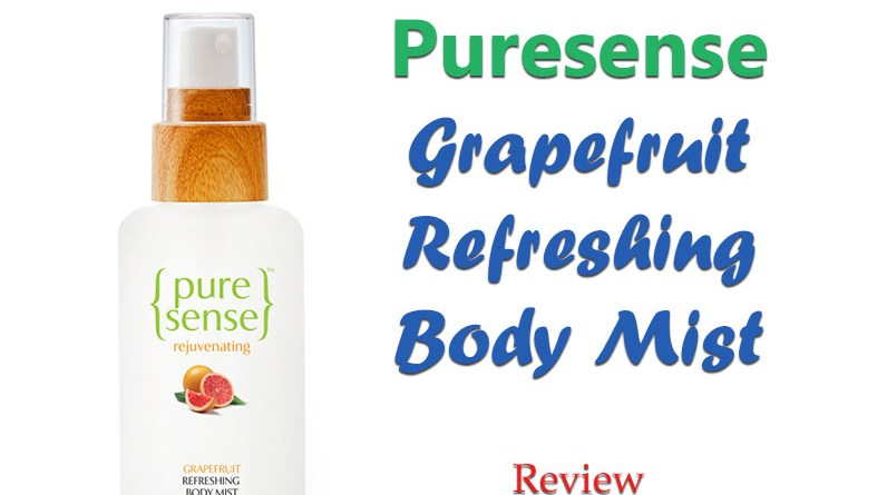 Puresense Grapefruit Body Mist Review