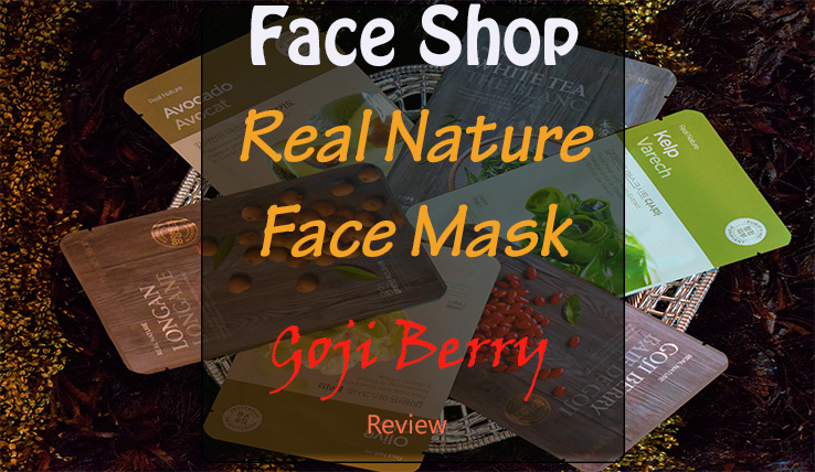 The Face Shop Real Nature Goji Berry Mask