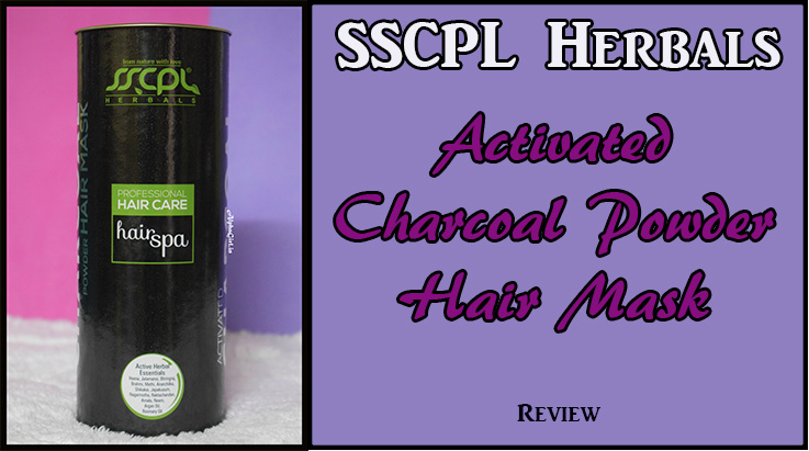 SSCPL Herbals Charcoal Powder Hair Mask Review