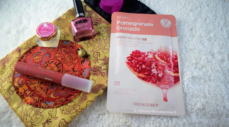 The Face Shop Real Nature Pomegranate Mask Review
