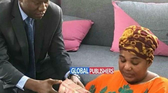 Hoyce Temu: shukrani za pekee kwa Rais wa Jamhuri ya Muungano wa Tanzania 🇹🇿 Mh. John Magufuli na mkewe Mama Janet