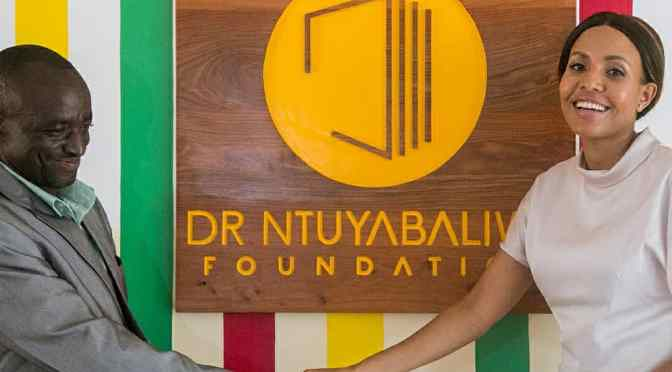Jacqueline Mengi: The day @drntuyabaliwe_foundation will be able to put up libraries in all regions and hopefully all districts of Tanzania will be the peak of my happiness
