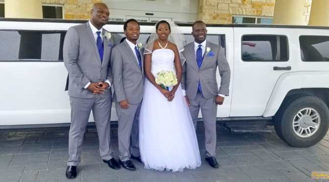 Mr and Mrs Sande Wedding