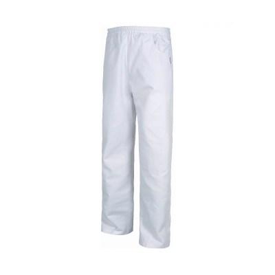 Pantalone unisex fondo diritto colore BIANCO