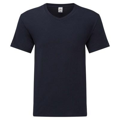 T-shirt manica corta lavoro uomo colore blu navy