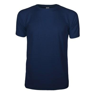 T-shirt maniche corte raglan lavoro uomo colore blu navy