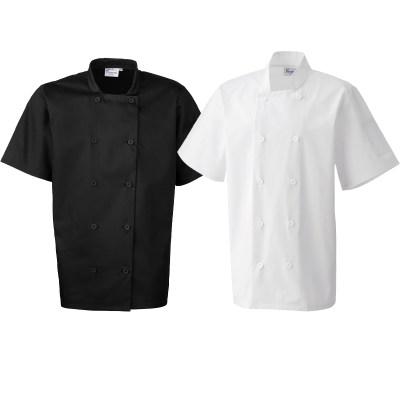 Giacca da cuoco a manica corta pr-656