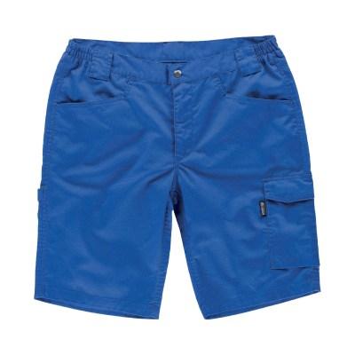 Pantalone corto colore royal