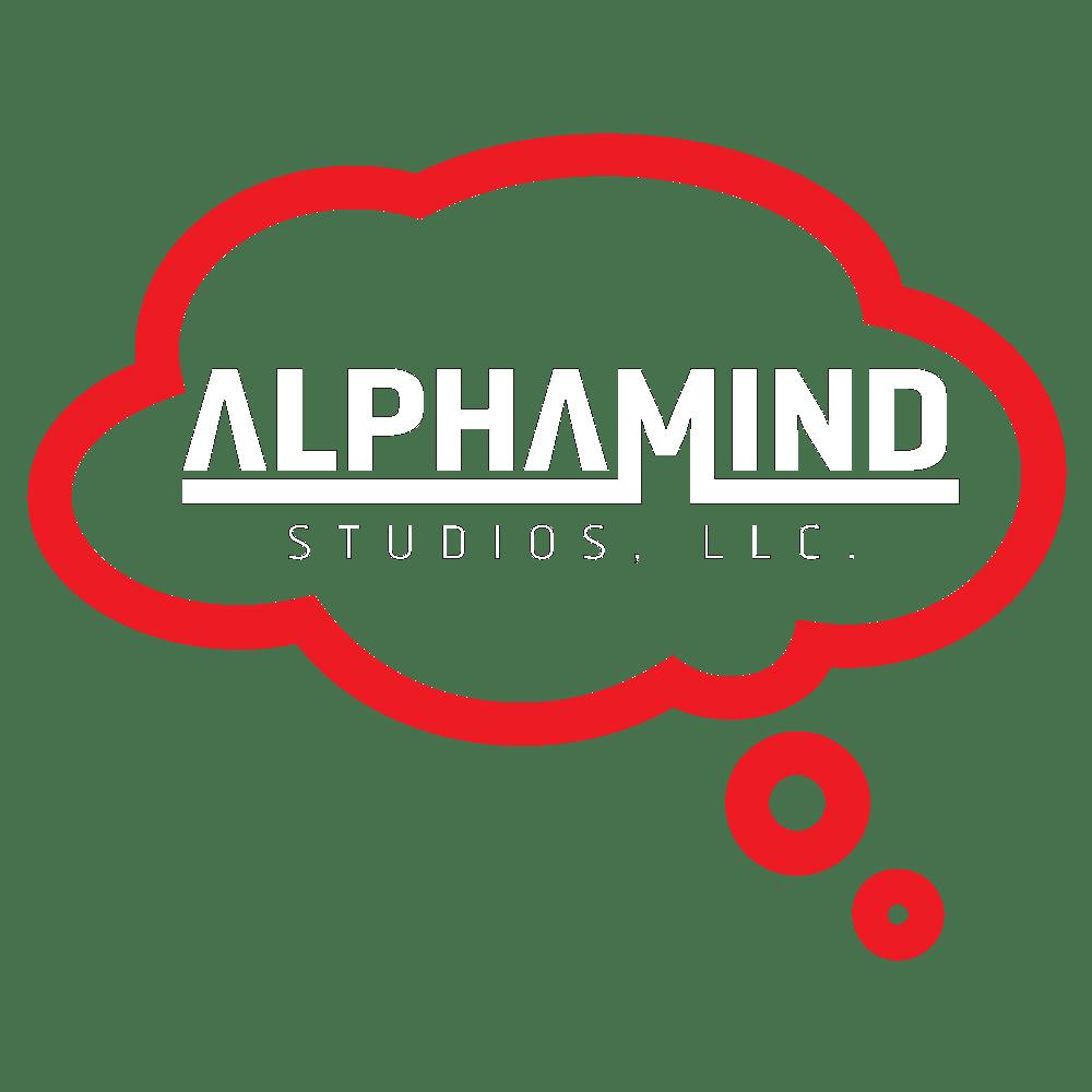 AlphaMind Studios logo