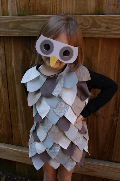 Children's owl costume