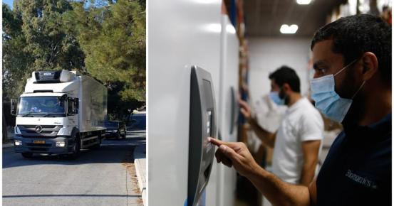 Η πρώτη παρτίδα εμβολίων Pfizer στην Κύπρο