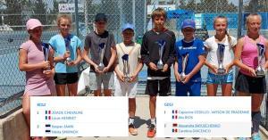Διεθνής εβδομάδα τουρνουά τένις σε τρία μέτωπα