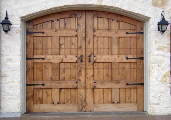 Wood Garage Door 11