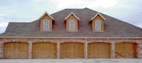 Wood Garage Door 13