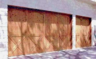Wood Garage Door 14