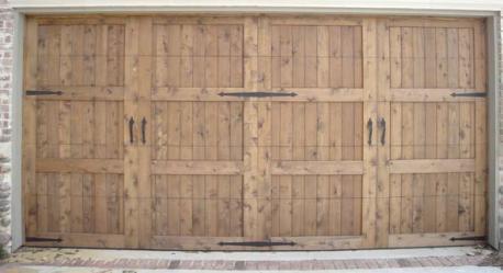 Wood Garage Door 2