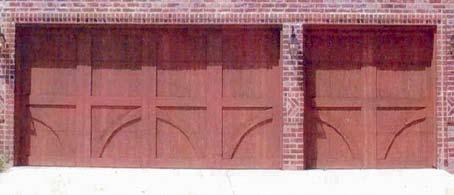 Wood Garage Door 5