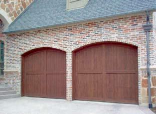 Wood Garage Door 9