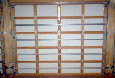 Wood Garage Door Insulated