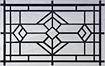 temple-short designer glass garage door windows